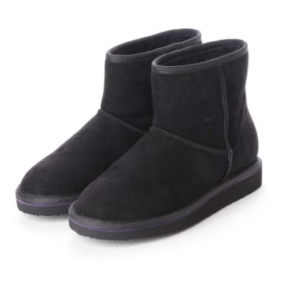 シューズラウンジ shoes lounge ショートブーツ 3650004B (ブラック)