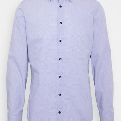 メンズ ファッション Formal shirt - blau