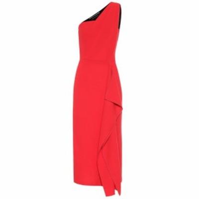 ローラン ムレ Roland Mouret レディース パーティードレス ワンピース・ドレス Rivoli wool-crepe dress Bright Red