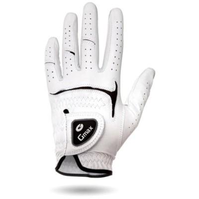 Gmaxゴルフグローブメンズグローブ左手用ホワイト ( 左手用(右利きが使う))