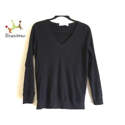 ルシェルブルー LE CIEL BLEU 長袖セーター サイズ40 M レディース 黒     スペシャル特価 20201119