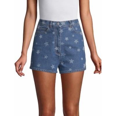 ヴァレンティノ レディース パンツ Star-Print Denim Shorts
