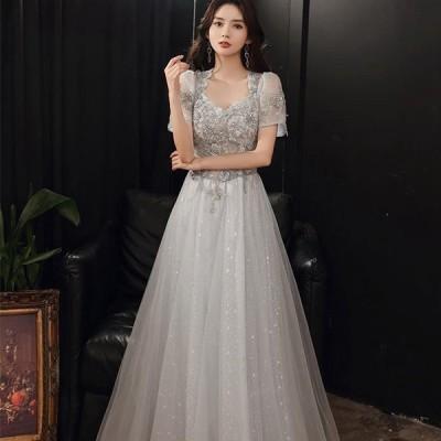 ウェディングドレス ドレス パーティドレス 花嫁ドレス お呼ばれ ロングドレス パーティー コンサート卒園式 披露宴 花嫁 誕生日