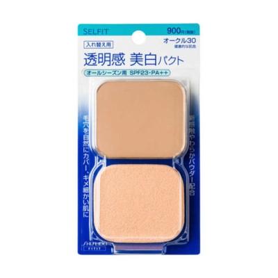 資生堂 SELFIT(セルフィット) ピュアホワイトファンデーション オークル30 (レフィル)(13g)