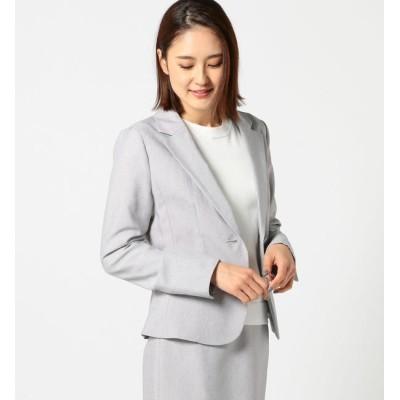 【ミューズ リファインド クローズ/MEW'S REFINED CLOTHES】 洗える接触冷感テーラードジャケット
