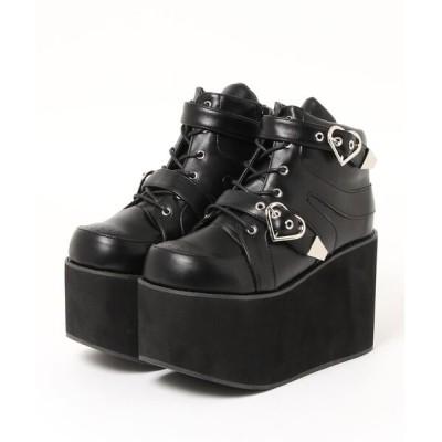 Ailand / ハートバックルブーツ WOMEN シューズ > ブーツ