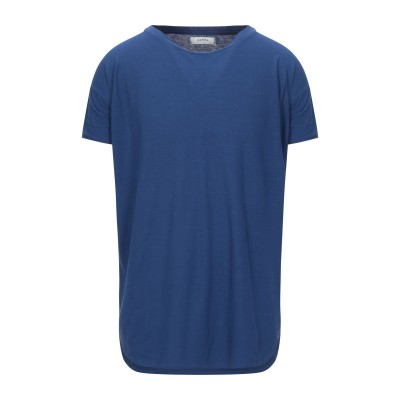 アルファスタジオ ALPHA STUDIO T シャツ ブルー 44 コットン 100% T シャツ