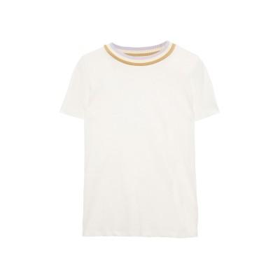 ZIMMERMANN T シャツ アイボリー 1 リネン 55% / コットン 45% T シャツ