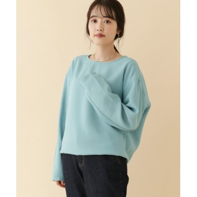 URBAN RESEARCH OUTLET / クルーネックブラウス∴ WOMEN トップス > シャツ/ブラウス