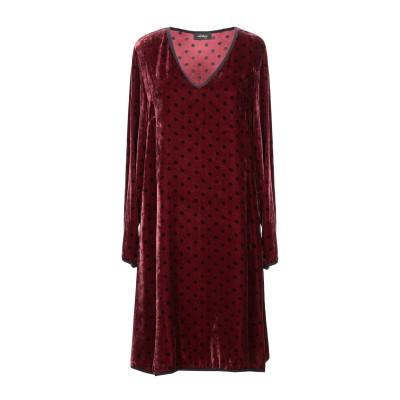 OTTOD'AME ミニワンピース&ドレス ボルドー 42 レーヨン 82% / シルク 18% / ポリエステル ミニワンピース&ドレス