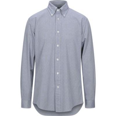 ブルックス ブラザーズ BROOKS BROTHERS メンズ シャツ トップス solid color shirt Grey
