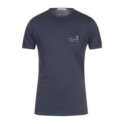 グレイ ダニエレ アレッサンドリーニ GREY DANIELE ALESSANDRINI T シャツ ブルーグレー M コットン 100% T シャツ