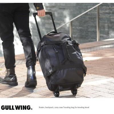 GULL WING 3wayトロリーボストンバッグ ブラック No.15179-01