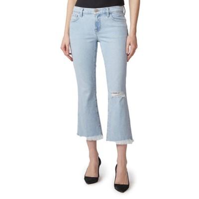 ジェイブランド レディース デニムパンツ ボトムス Selena Mid-Rise Cropped Boot-Cut Jeans