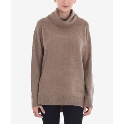 ライブ ニット&セーター アウター レディース Roll Neck Pullover Sweater Oatmeal