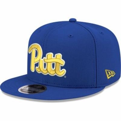 ニューエラ New Era メンズ キャップ 帽子 Pitt Panthers Blue 9Fifty Adjustable Hat