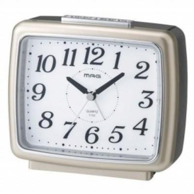 ノア 自動点灯目覚ましアナログ時計 ブリリア T-722CGM-Z