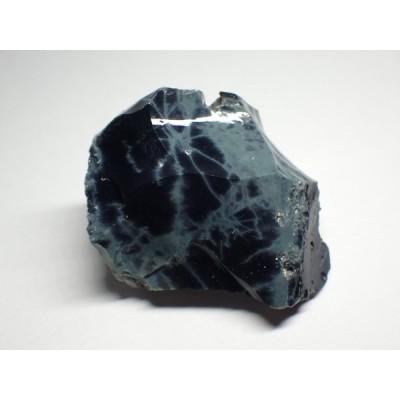 メキシコ産 スパイダーウェブオブシディアン/Spiderweb Obsidian 原石 A-OBS016