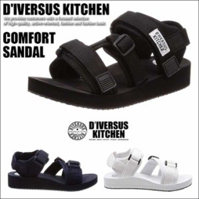 D'IVERSUS KITCHEN ディバーサスキッチン サンダル DK-1716 コンフォートサンダル メンズ ミリタリー 靴 シューズ Y_KO SHA 180726