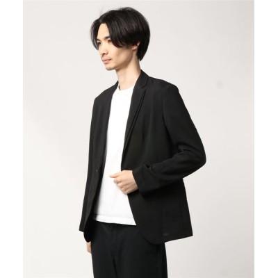 CustomCulture + 291295 HOMME / 【CUSTOM CULTURE】 平織り無地 1BS デザインジャケット MEN ジャケット/アウター > テーラードジャケット