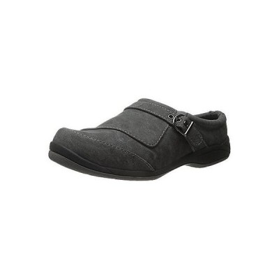 フラッツ オックスフォード ぺたんこ シューズ 靴 イージーストリート Easy Street 0711 レディース Comet グレー Mules シューズ 7.5 Extra Wide (E+, WW)