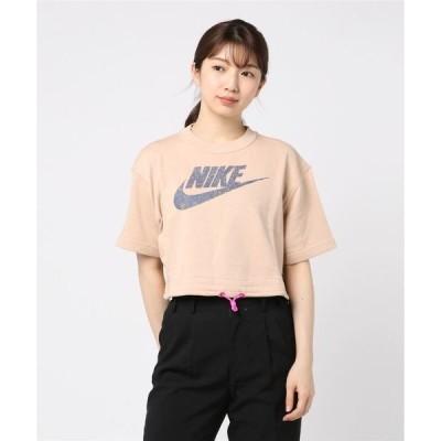 tシャツ Tシャツ NIKE ナイキ WアイコンクラッシュS/Sフレンチテリートップ CJ2276-287 287SHMMER/FIREP