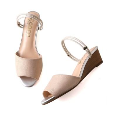 ANDEX shoes product / coca / コカ ウェッジヒール 2WAY サンダル 121007 WOMEN シューズ > サンダル