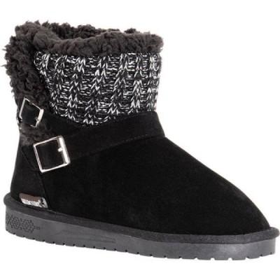 ムクルクス MUK LUKS レディース ブーツ シューズ・靴 Alyx Bootie Black