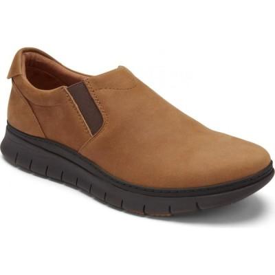 バイオニック VIONIC メンズ スリッポン・フラット スニーカー シューズ・靴 Khai Slip-On Sneaker Toffee Nubuck