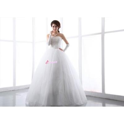 無料】ウェディングドレス、結婚式、二次会ドレス、花嫁ドレス、パーティードレス  ブライズメイ