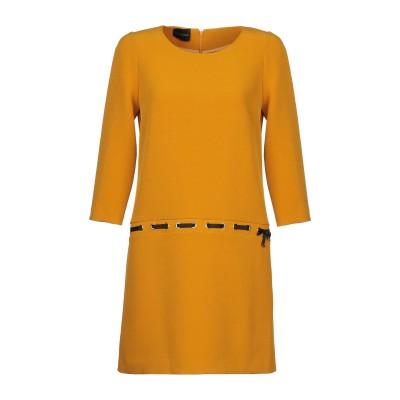 アトス ロンバルディーニ ATOS LOMBARDINI ミニワンピース&ドレス オークル 42 アセテート 70% / レーヨン 30% ミニワン