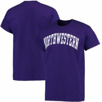 Fanatics Branded ファナティクス ブランド スポーツ用品  Northwestern Wildcats Purple Basic Arch T-Shirt