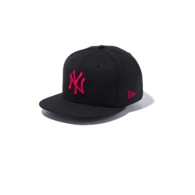 ニューエラ(NEW ERA)9FIFTY ニューヨーク・ヤンキース ブラック×ストロベリー 12492803