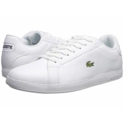 Lacoste ラコステ レディース 女性用 シューズ 靴 スニーカー 運動靴 Graduate BL 1 SFA White/White【送料無料】