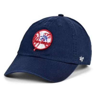 47ブランド レディース 帽子 アクセサリー New York Yankees Core CLEAN UP Cap Navy