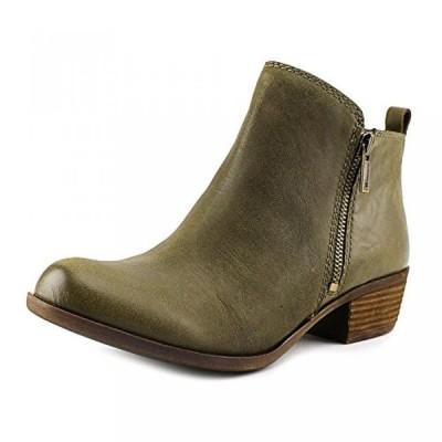 ラッキーブランド レディース ブーツ Lucky Brand Basel Women Round Toe Leather Bronze Ankle Boot