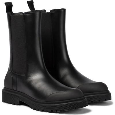 モンクレール Moncler レディース ブーツ チェルシーブーツ シューズ・靴 patty leather chelsea boots