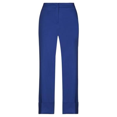 BOUTIQUE MOSCHINO パンツ ブライトブルー 42 コットン 98% / ポリウレタン 2% パンツ