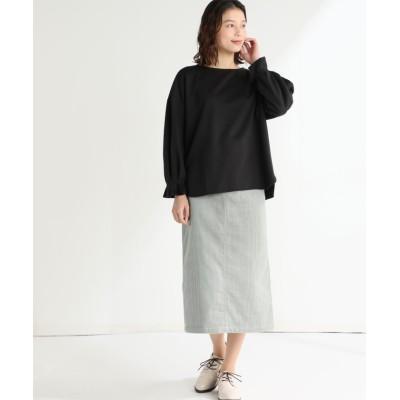 (Honeys/ハニーズ)ボリューム袖プルオーバー/レディース ブラック