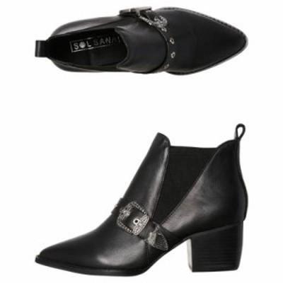 ソルサナ ブーツ Paddy Leather Boot Black