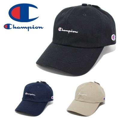 Champion チャンピオン ツイルキャップ メンズ レディース 帽子 男性 女性 181-019A
