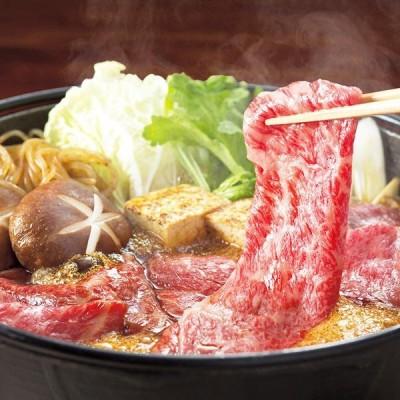 最高級A5ランク仙台牛すき焼き・しゃぶしゃぶ食べ比べセット(直送品)
