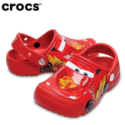 クロックス サンダル ジュニア ファン ラブ カーズ クロッグ キッズ 204116 crocs