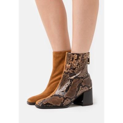 スコッチアンドソーダ ブーツ&レインブーツ レディース シューズ FLORENCE - Classic ankle boots - brown
