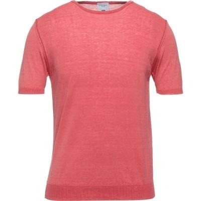 ロンドンポロ LONDON POLO メンズ ニット・セーター トップス Sweater Coral