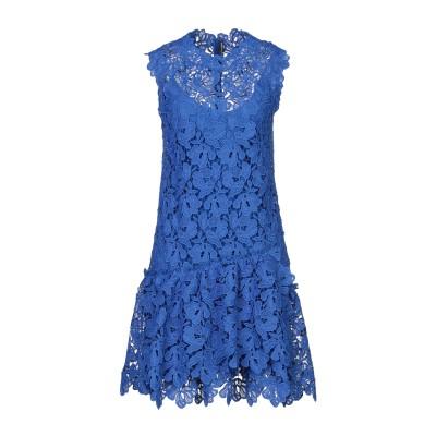 エルマノ シェルヴィーノ ERMANNO SCERVINO ミニワンピース&ドレス ブルー 42 ポリエステル 100% ミニワンピース&ドレス