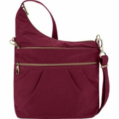 Travelon  ファッション バッグ Travelon Anti-Theft Signature 3 Compartment Crossbody Cross-Body Bag NEW