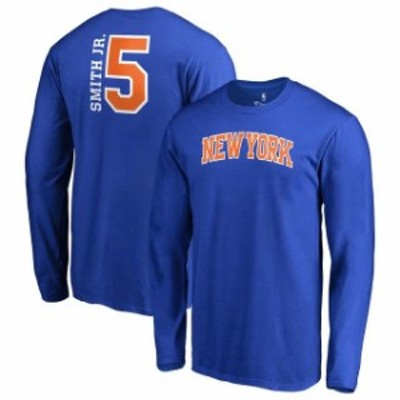 Fanatics Branded ファナティクス ブランド スポーツ用品  Fanatics Branded Dennis Smith Jr New York Knicks Royal S
