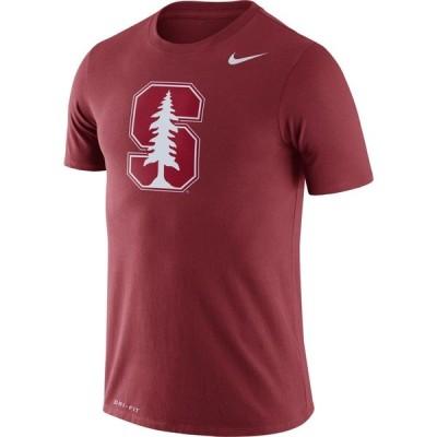 ナイキ Nike メンズ Tシャツ トップス Stanford Cardinal Cardinal Logo Dry Legend T-Shirt