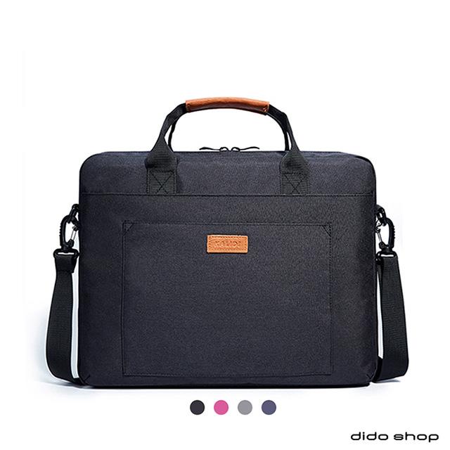 15.6吋 大容量休閒單肩手提筆電包 電腦包(CL214)-黑